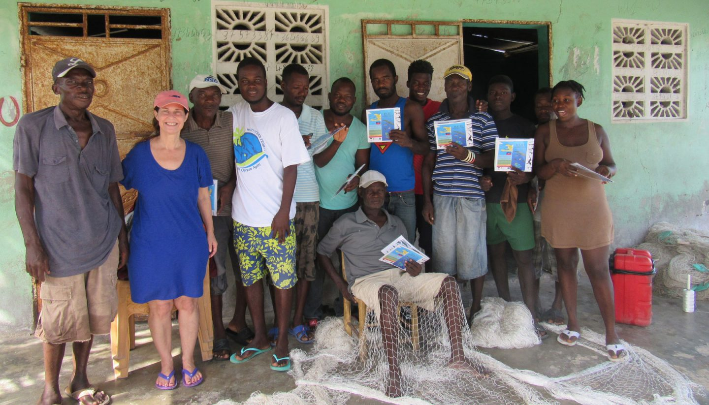 group of participants in Haiti Ocean Project