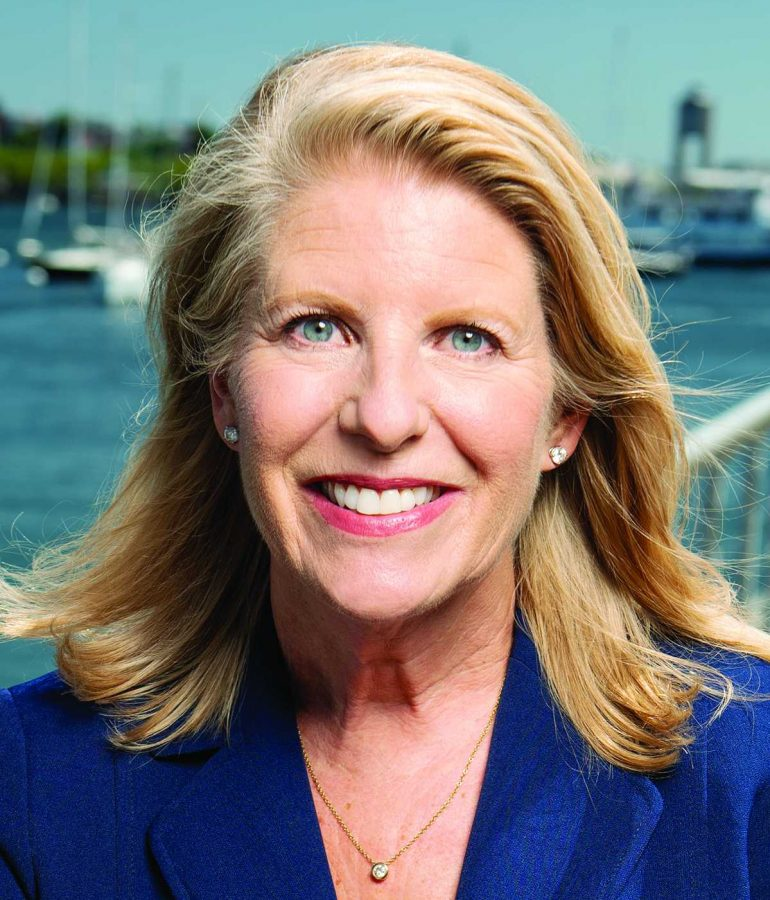 Vikki Spruill, President and CEO of the New England Aquarium