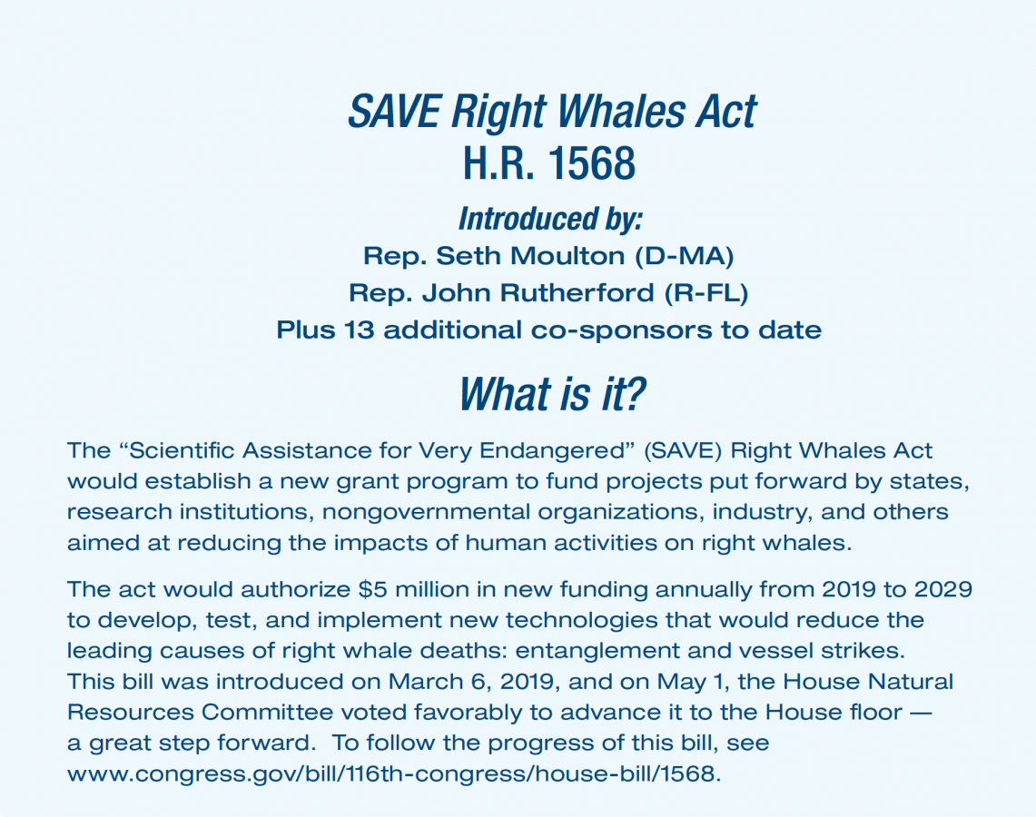 Save the Right Whales Act