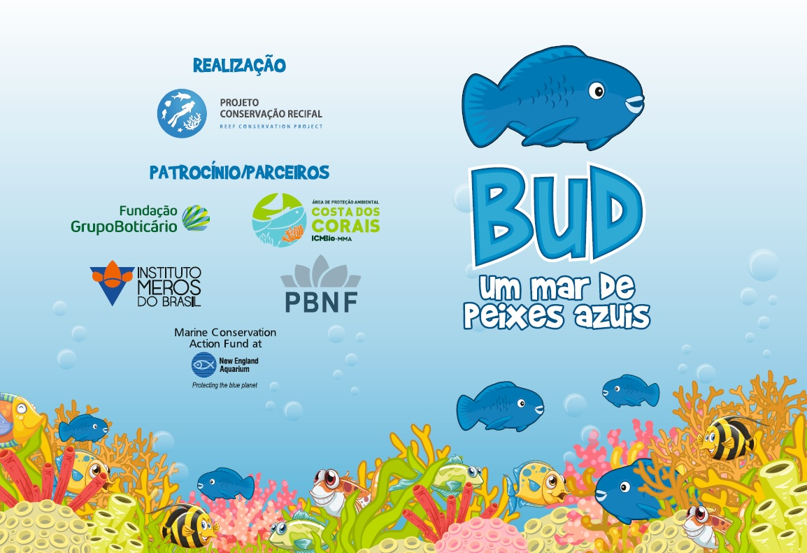 "Booklet used for the activities with the ""mascot"" of the species."