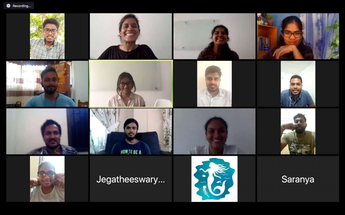 A virtual training session held on Zoom.
